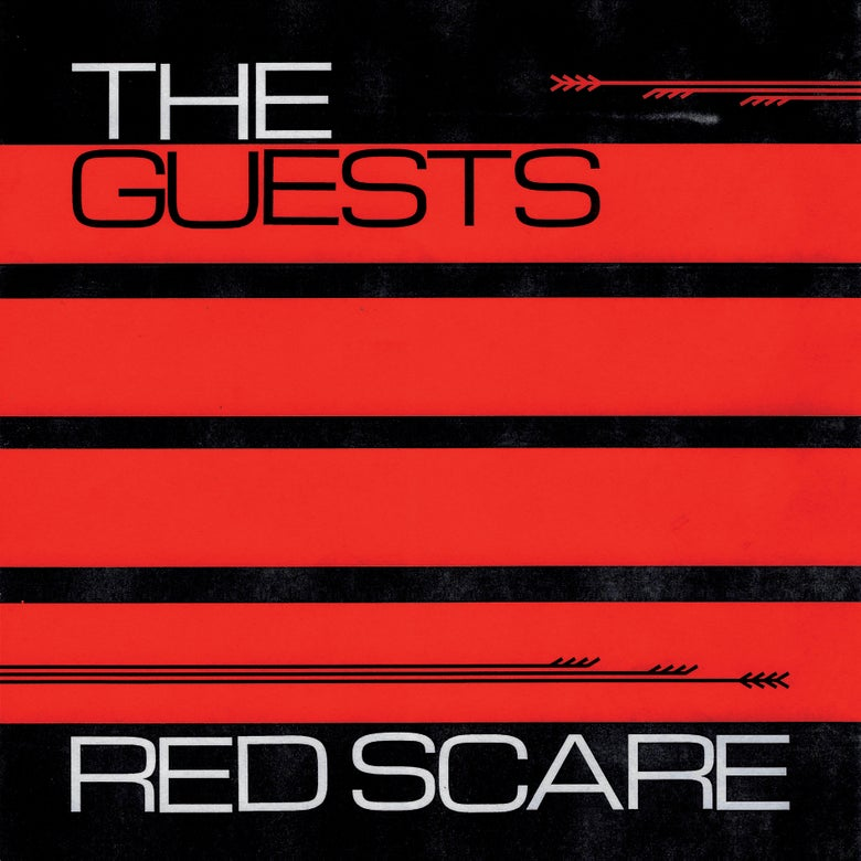 Image of THE GUESTS - RED SCARE LP