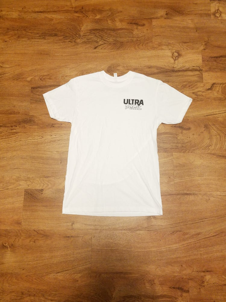 Image of Dangerous times tee (white)