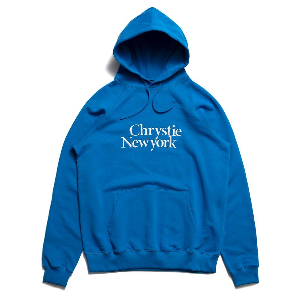 Image of Chrystie Premium Hoodie / Royal Blue
