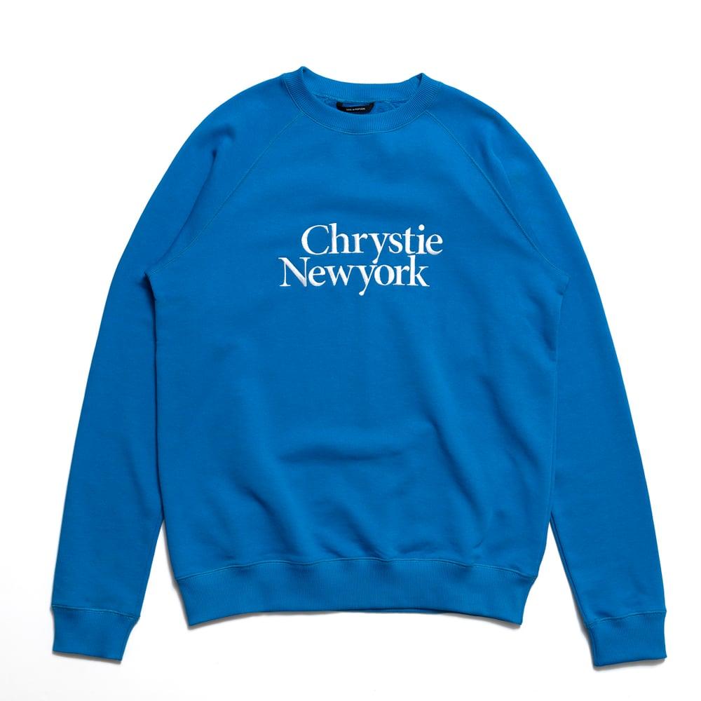 Image of Chrystie Premium Crewneck / Royal Blue