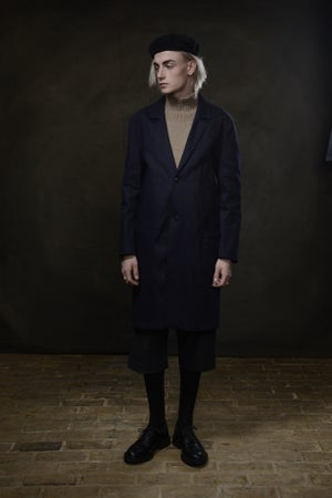Image of MANUFACTURING COAT - JAPAN INDIGO £390.00