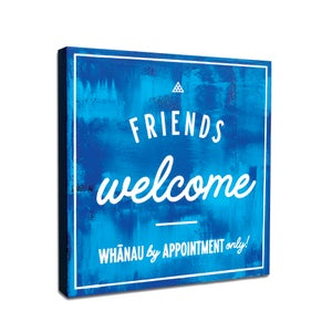 Image of Whanau by appointment only!  Blue.
