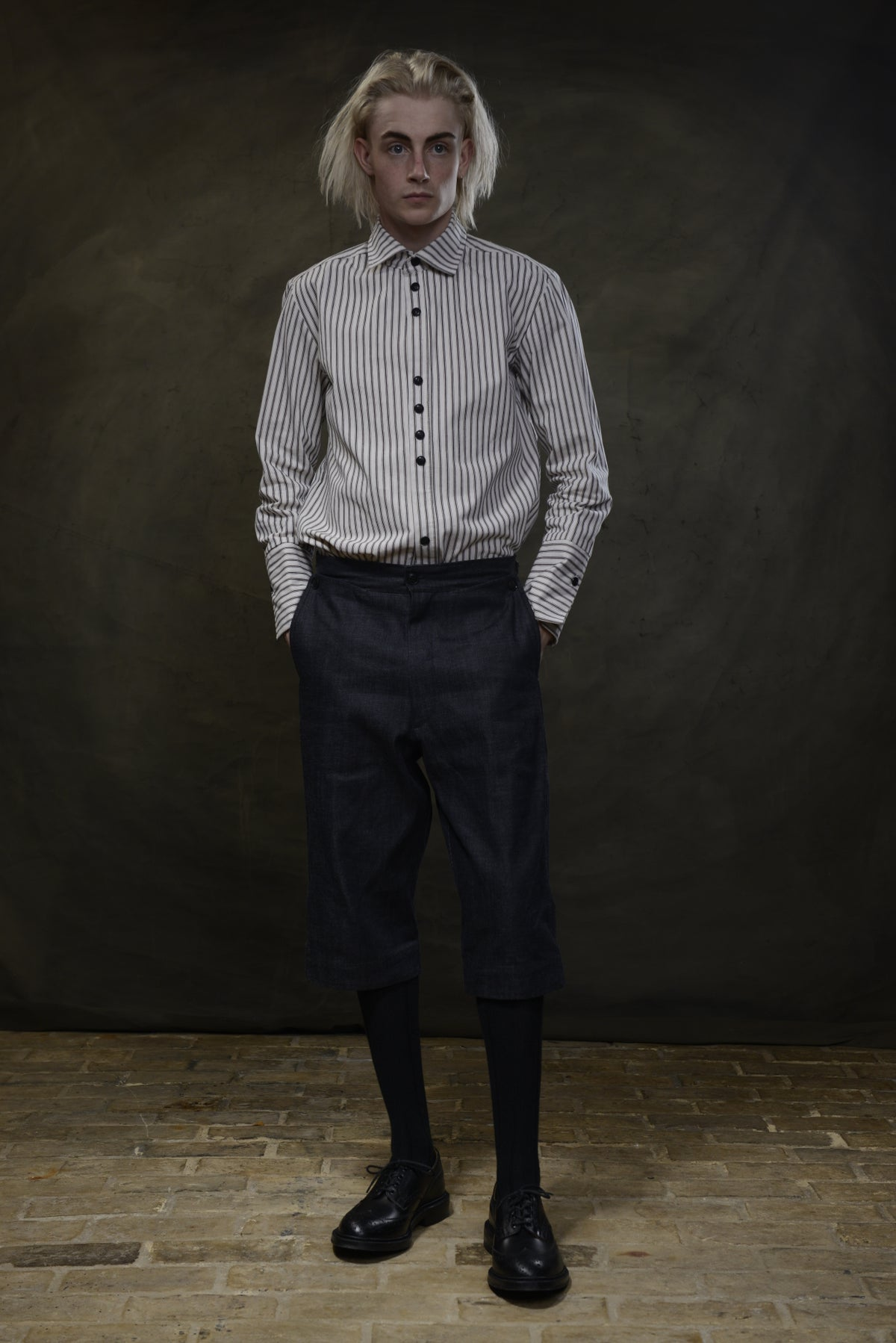 Image of RODIN SHIRT STRIPE £190.00