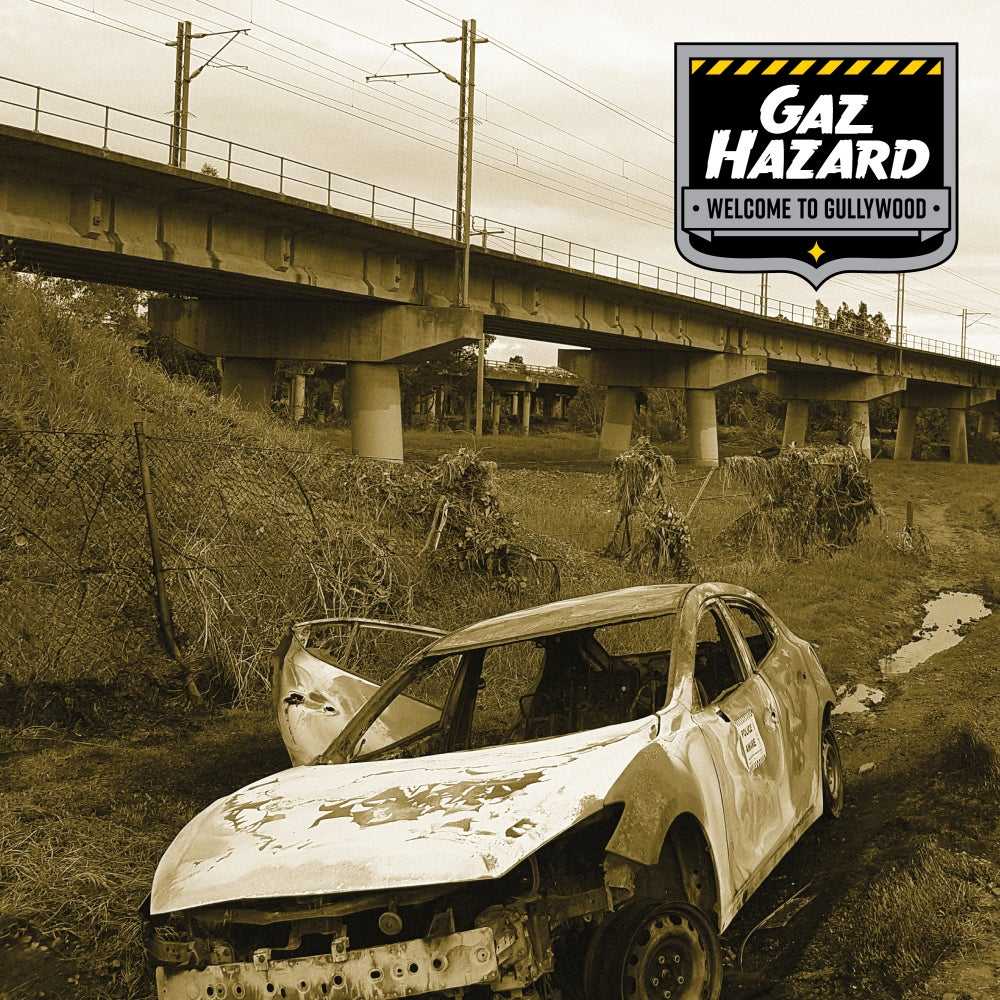 "Image of Gaz Hazard ""Welcome to Gullywood"" CD"