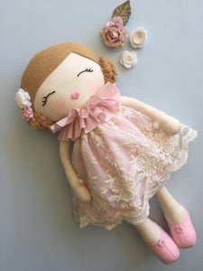 Image of Eloise handmade doll. Limited edition