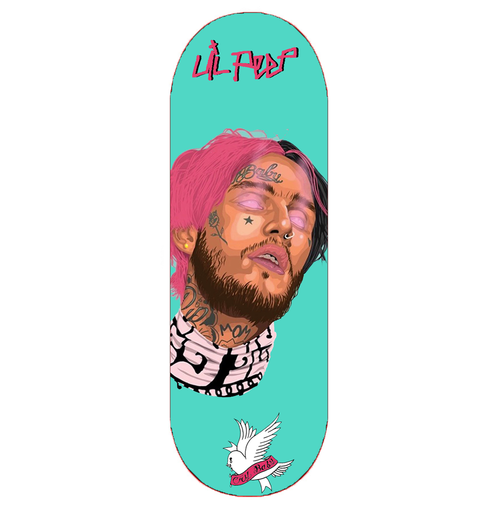 "Image of ""LIL PEEP MEMORIAL"" DECK (Reissued)"