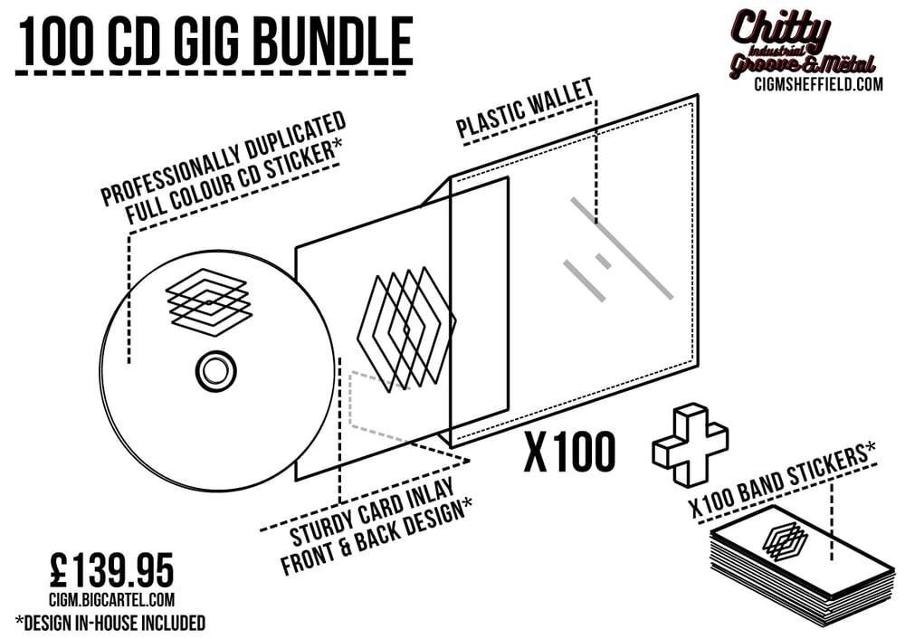 Image of 100 CD Gig Bundle