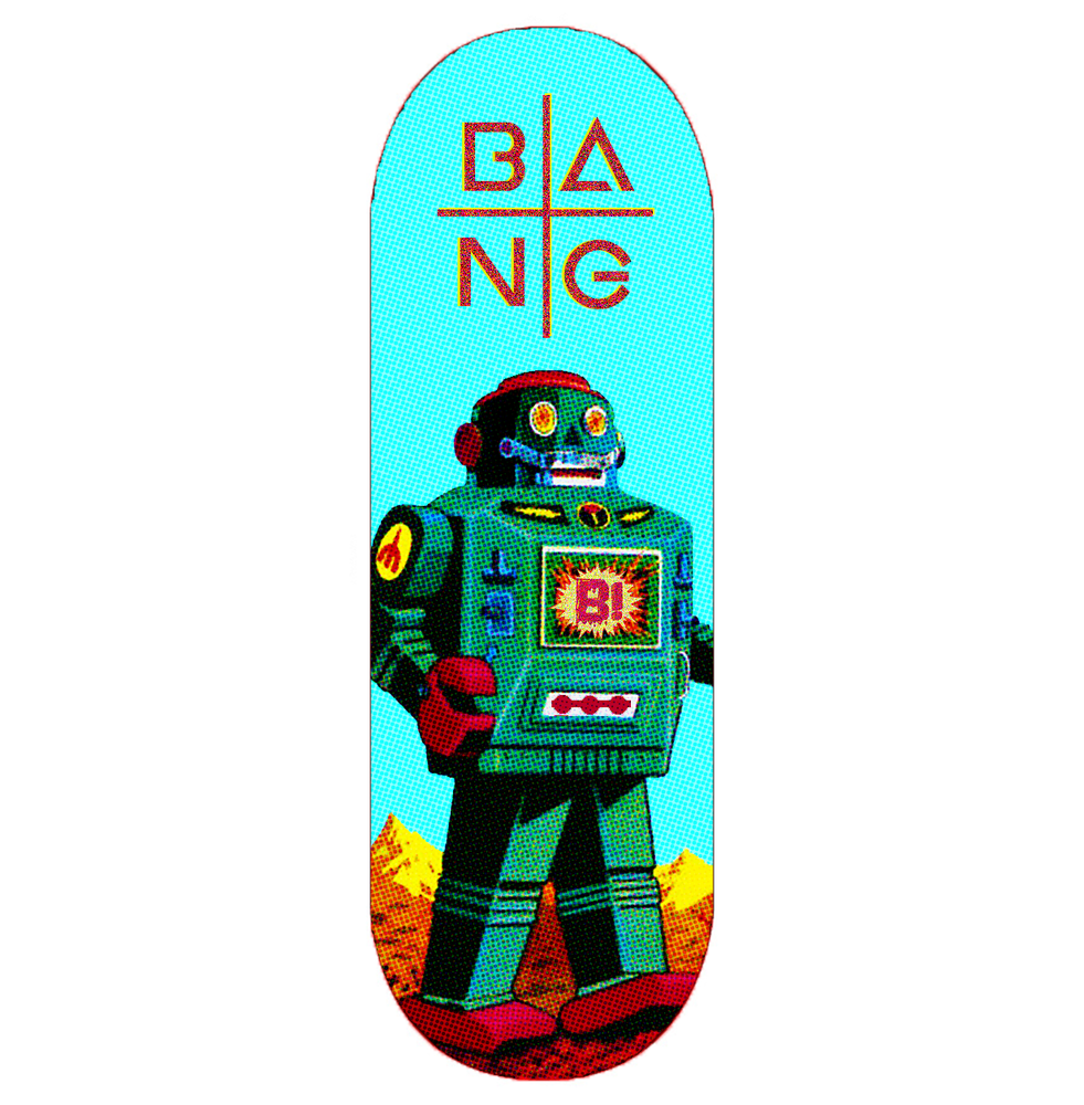 """Image of """"THE MACHINE"""" DECK"""