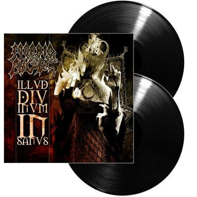 Image of ILLUD DIVINUM INSANUS Gatefold Edition Double-LP Black Vinyl SIGNED! (with FREE Illud T-Shirt)