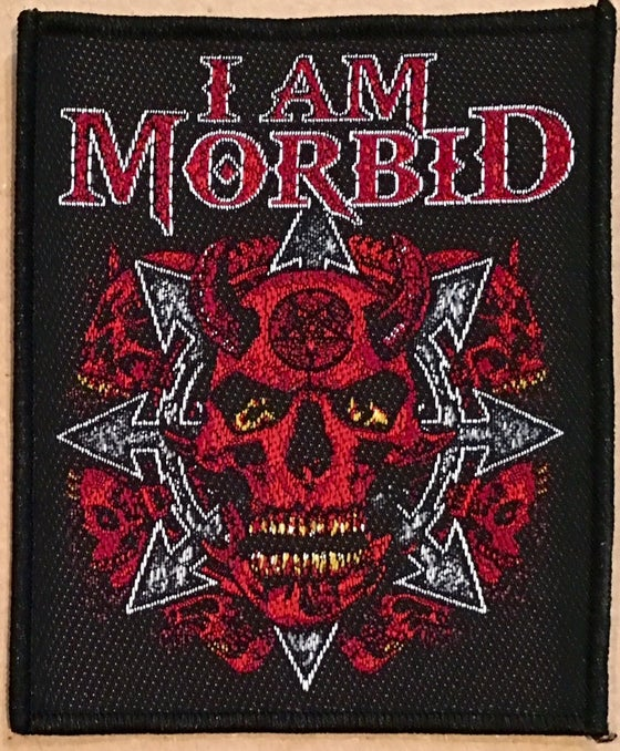 Image of I AM MORBID Heavy-Weight Patch