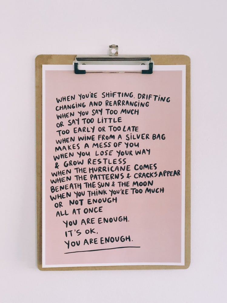 Image of You Are Enough