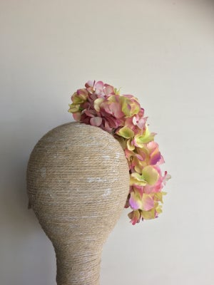 Image of Many shades of pink headpiece