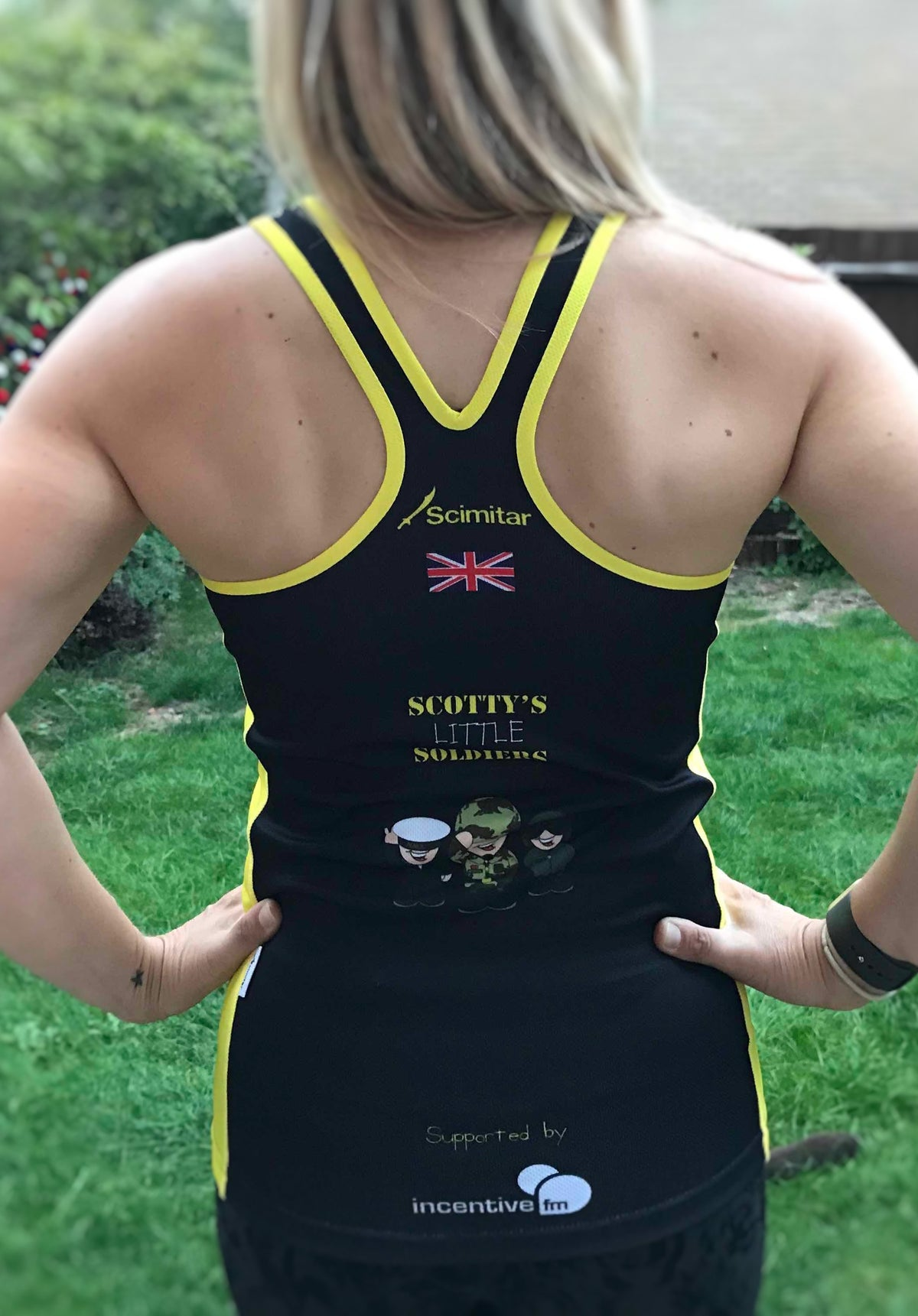 Image of Women's Racer Back Running Vest