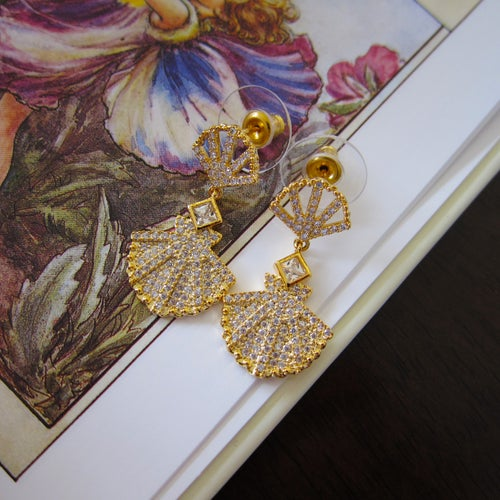 Image of Mermaid Shell earrings