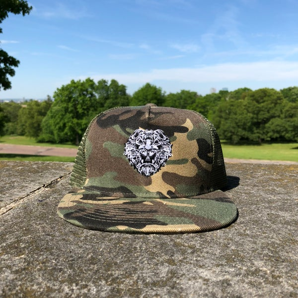 Image of Krugare Street Luxury® Camo Cap
