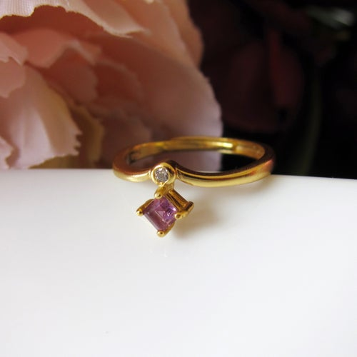 Image of Amethyst Incantation ring