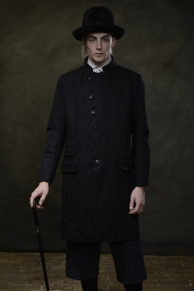 Image of EAST END COAT - Dark Navy £350.00