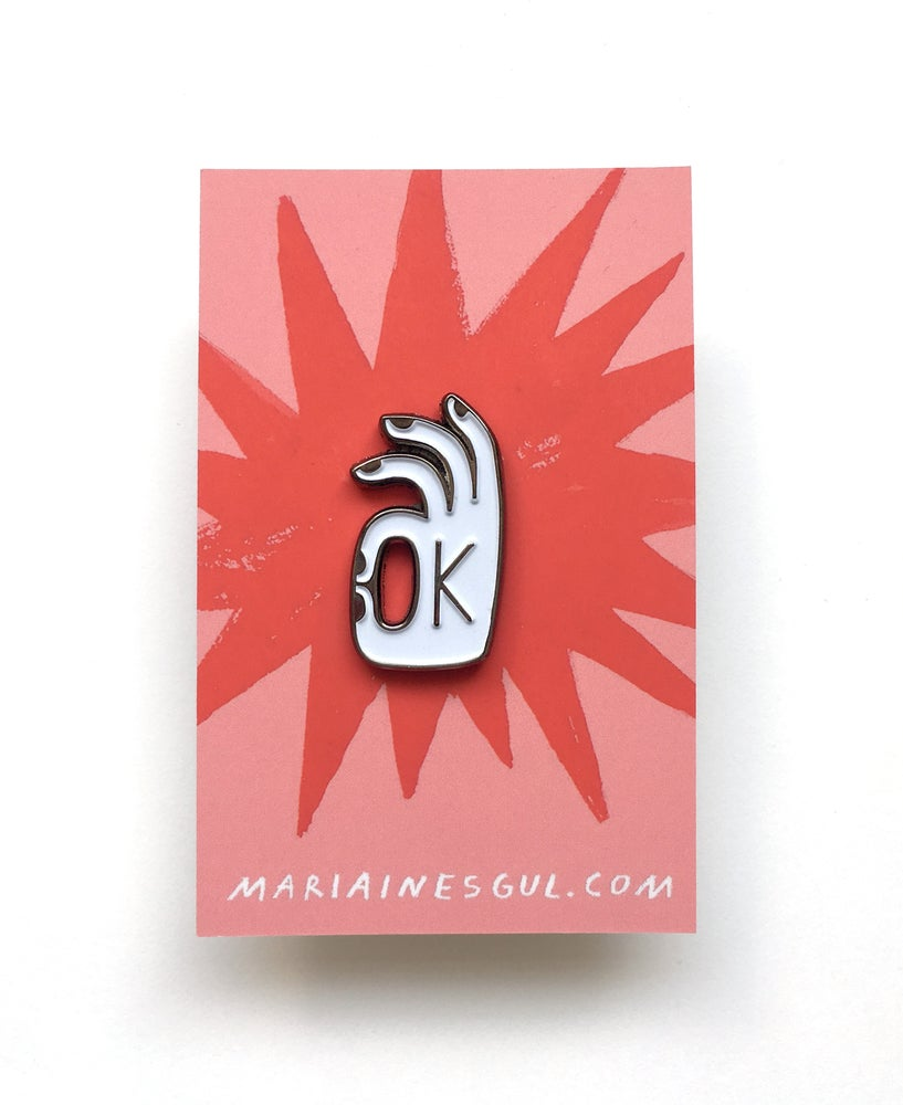 Image of OK PIN