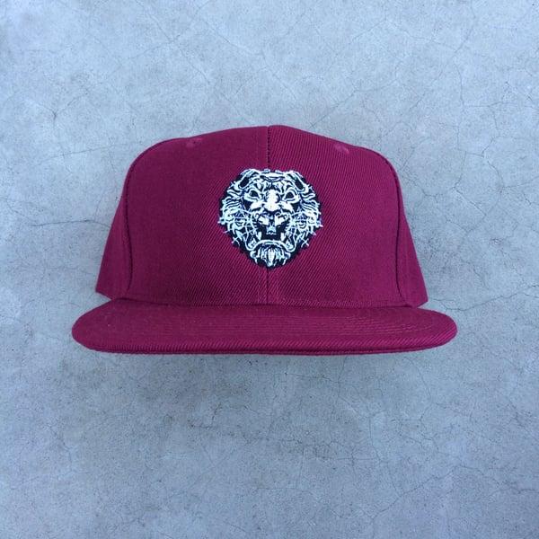 Image of Krugare Street Luxury® Maroon Cap