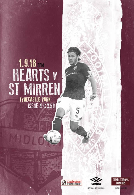 Image of Hearts v St Mirren, 1st September 2018