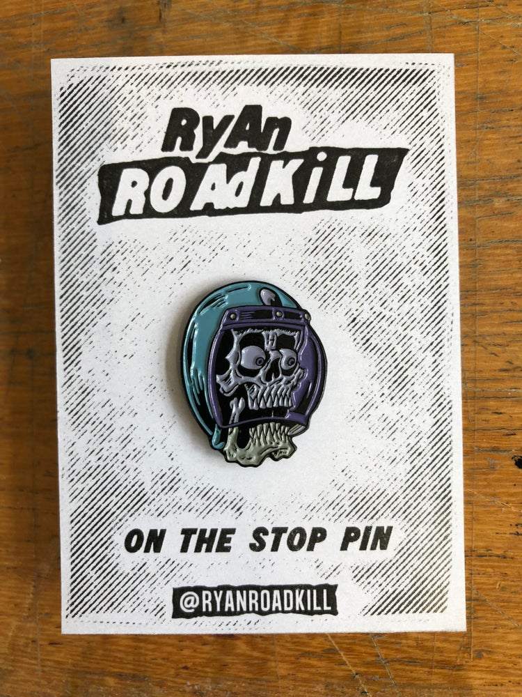 Image of On the Stop - pin badge