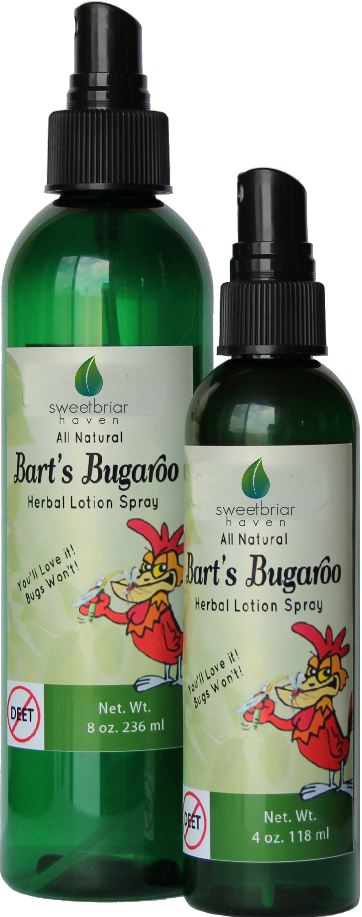 Image of Bart's Bugaroo Bug Spray