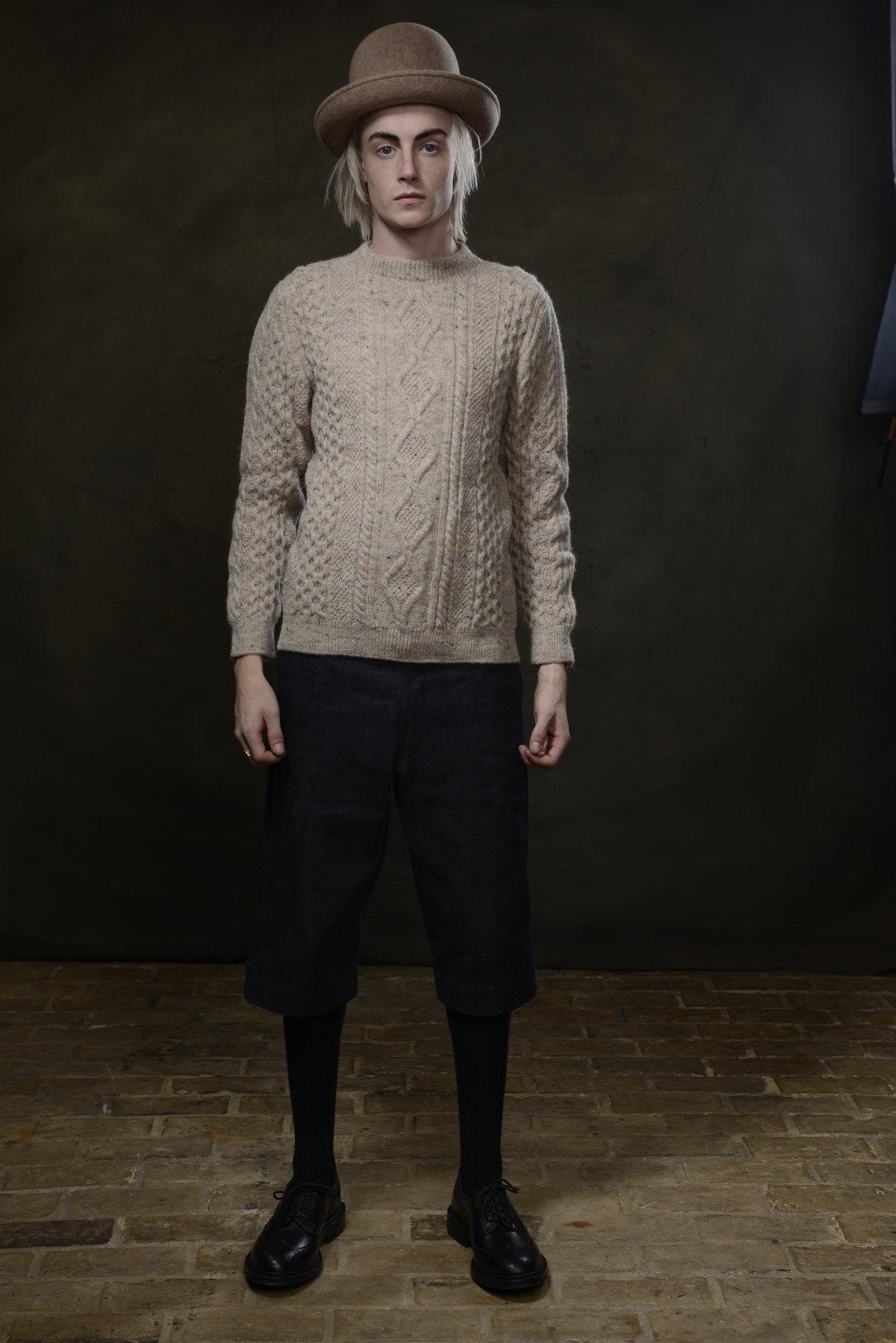 Image of Old Sailor Aran Sweater £165.00