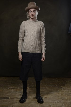 Image of Old Sailor Aran Sweater £165.00