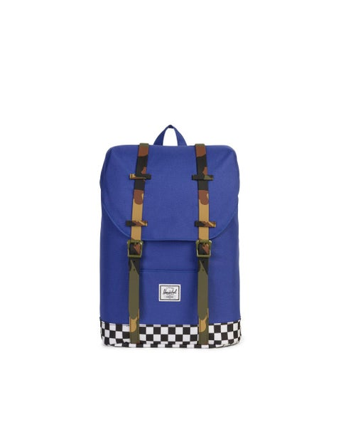Image of Herschel. Mochila retreat azul combinado