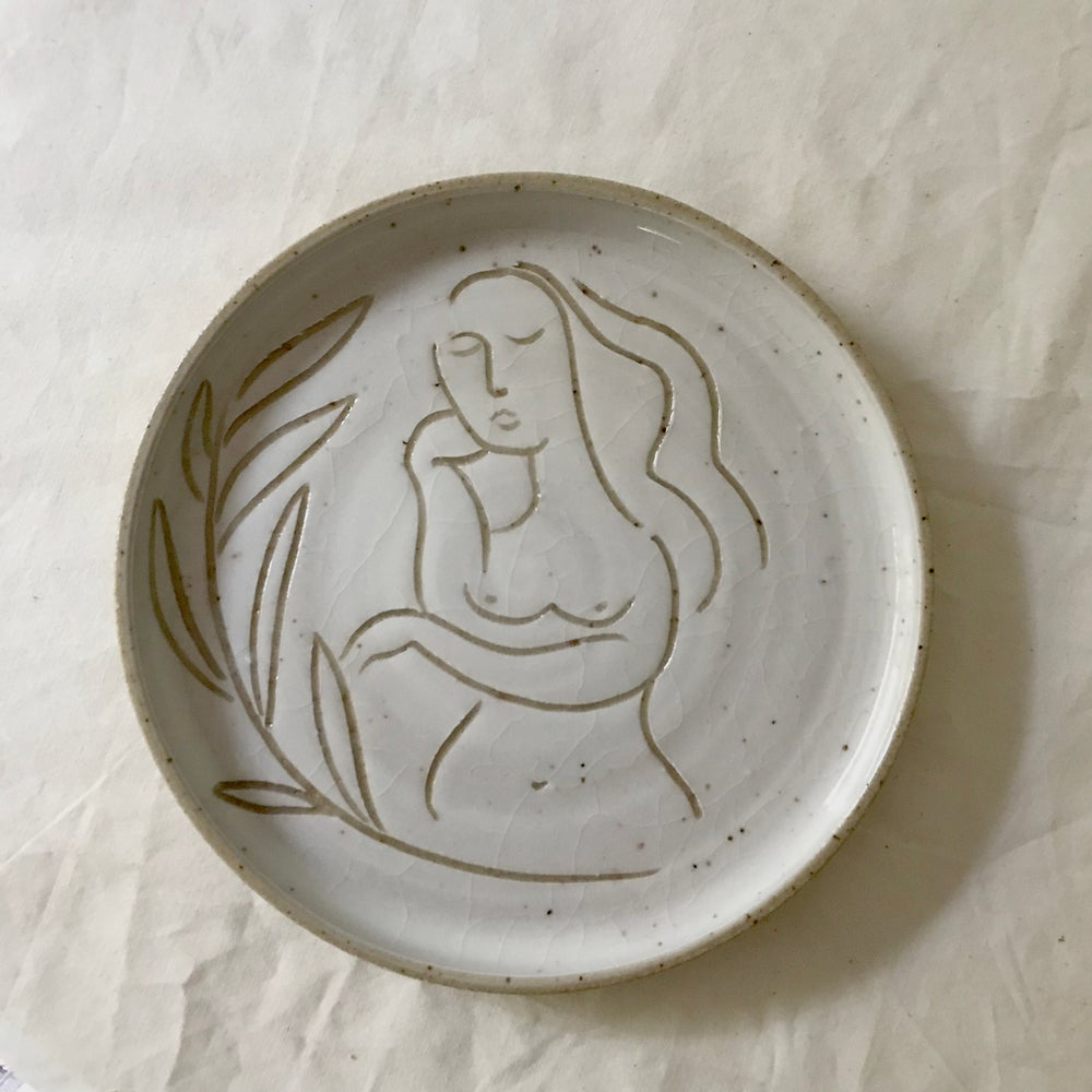 Image of muse - functional art plate
