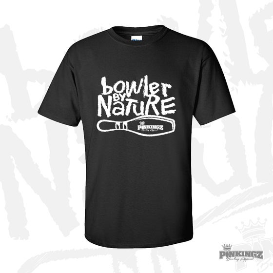 Image of Pinkingz Bowling  - Bowler By Nature - Black with White