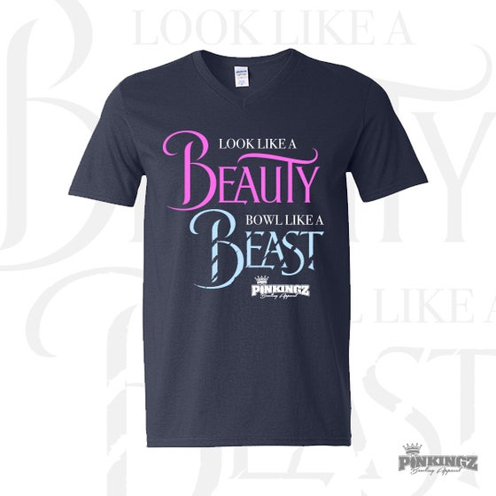 3fc2415d42 Image of Pinkingz Bowling T-Shirt - Look Like a Beauty Bowl Like a Beast