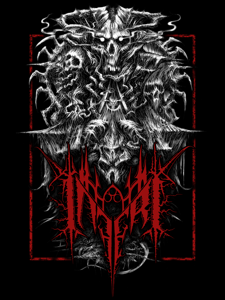 Image of INFERI - The Dawn - Back Patch