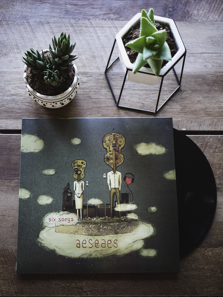 Image of Six Songs EP (Vinyl)