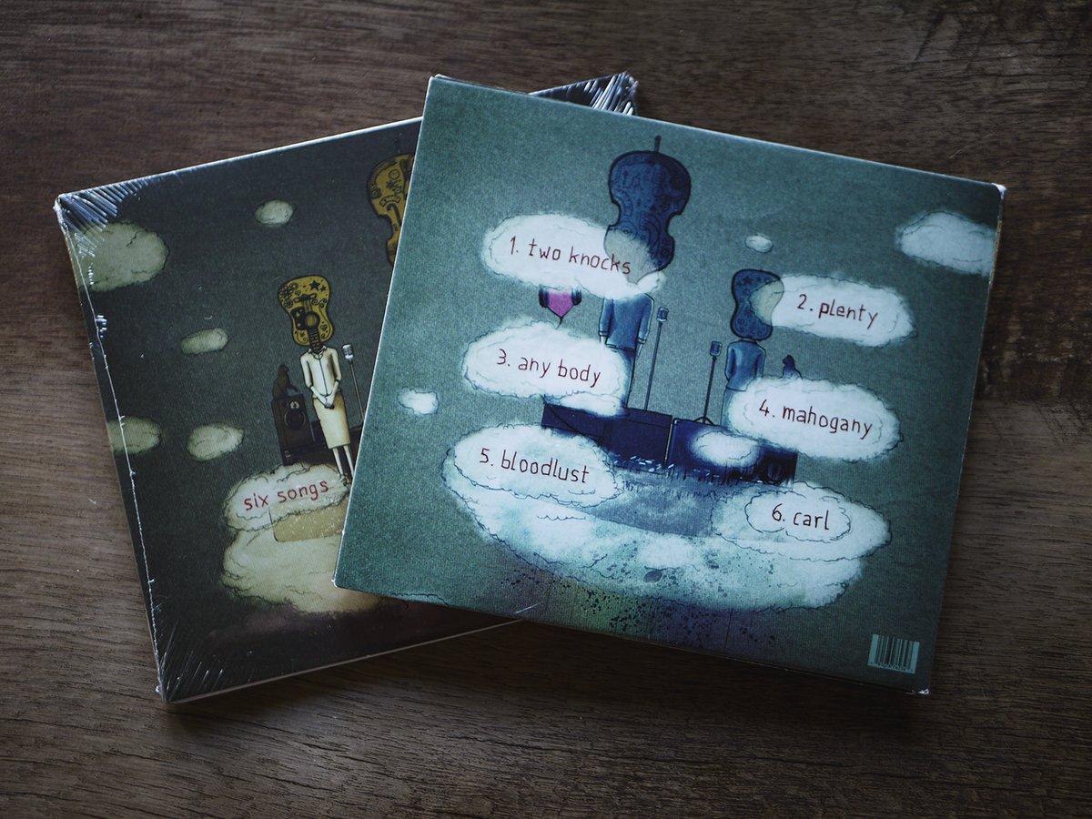 Image of Six Songs EP (CD)