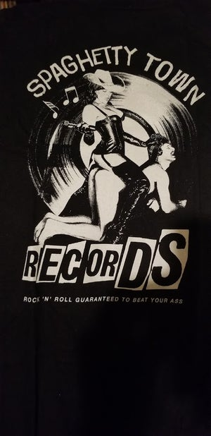 "Image of Spaghetty Town Records ""Beat Your Ass"" Shirt"