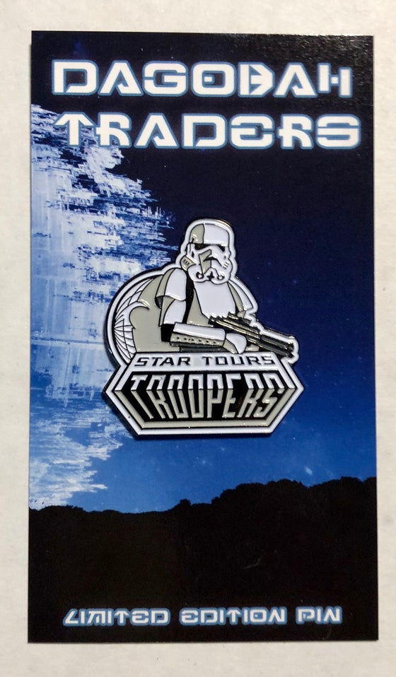 Image of Star Tours Troopers Lapel Pin