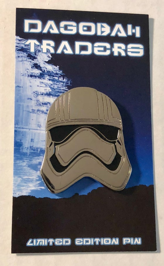 "Image of Phasma Shiny Helmet 1.5"" Lapel Pin"