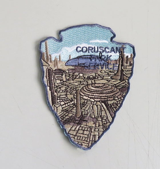 Image of Star Wars Park Service Series 2 -  #2 CORUSCANT