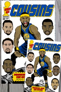 Image of Cousins art print combo