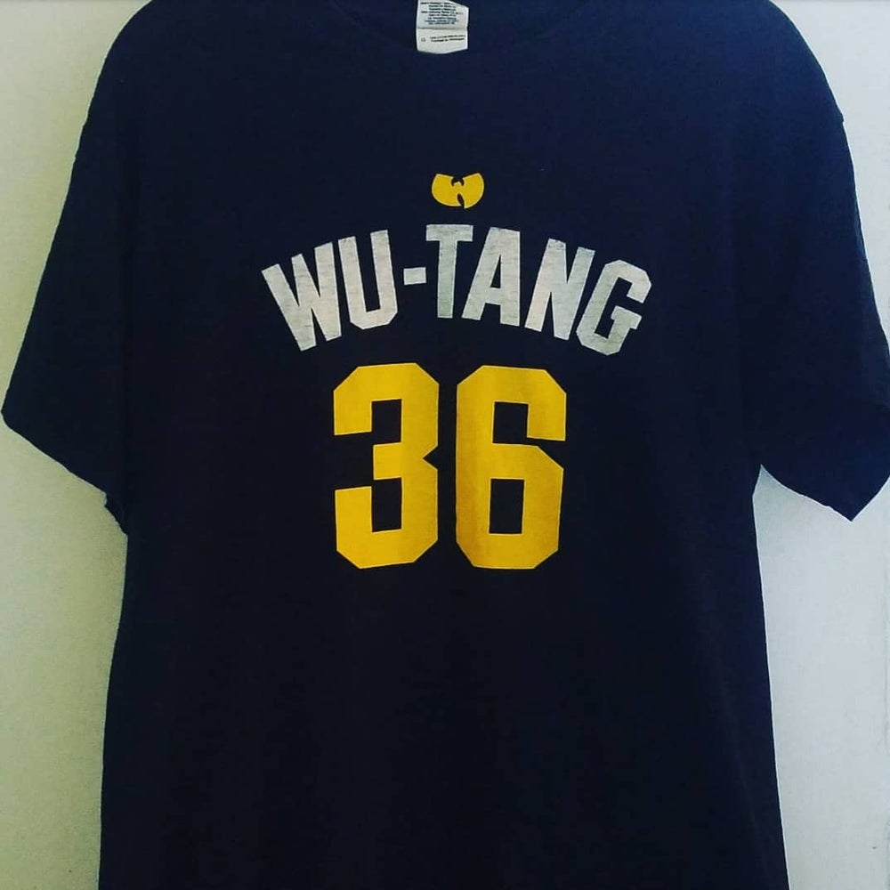 Image of Rare Wu-Tang 36 Ruckus Shirt - Large