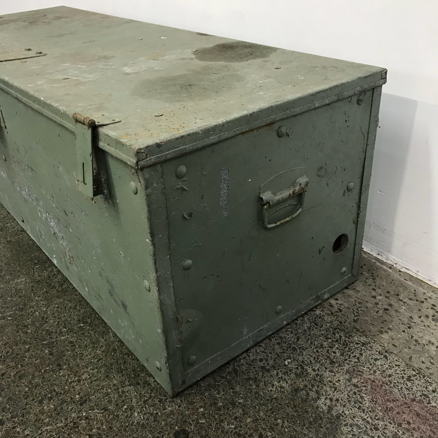 Sydney Used Furniture Large Metal Strong Box
