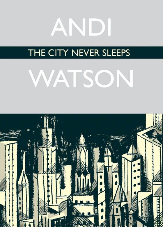 Image of The City Never Sleeps mini comic