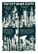 Image 2 of The City Never Sleeps mini comic