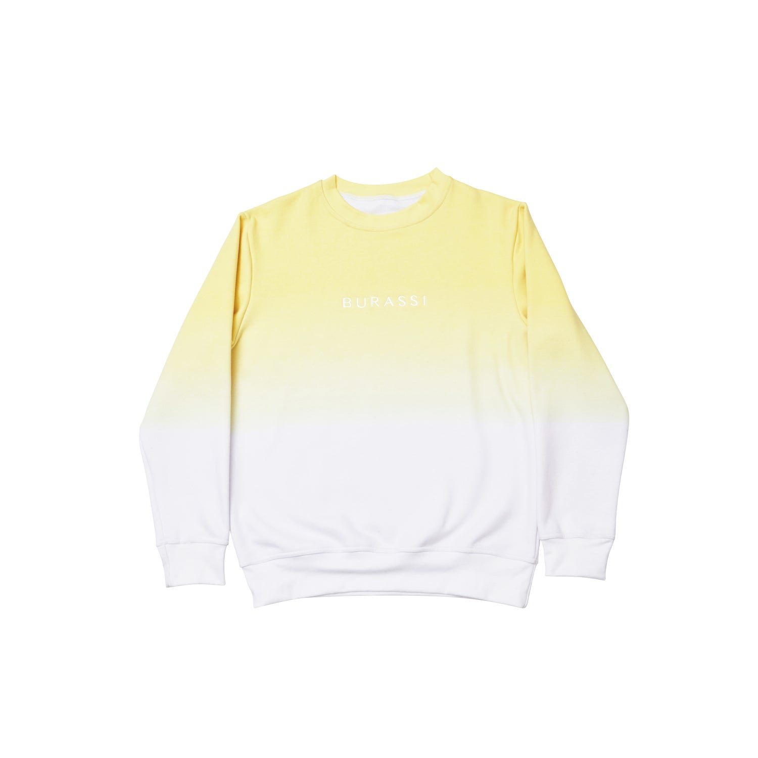 Image of Dip Dye Crewneck (Yellow)