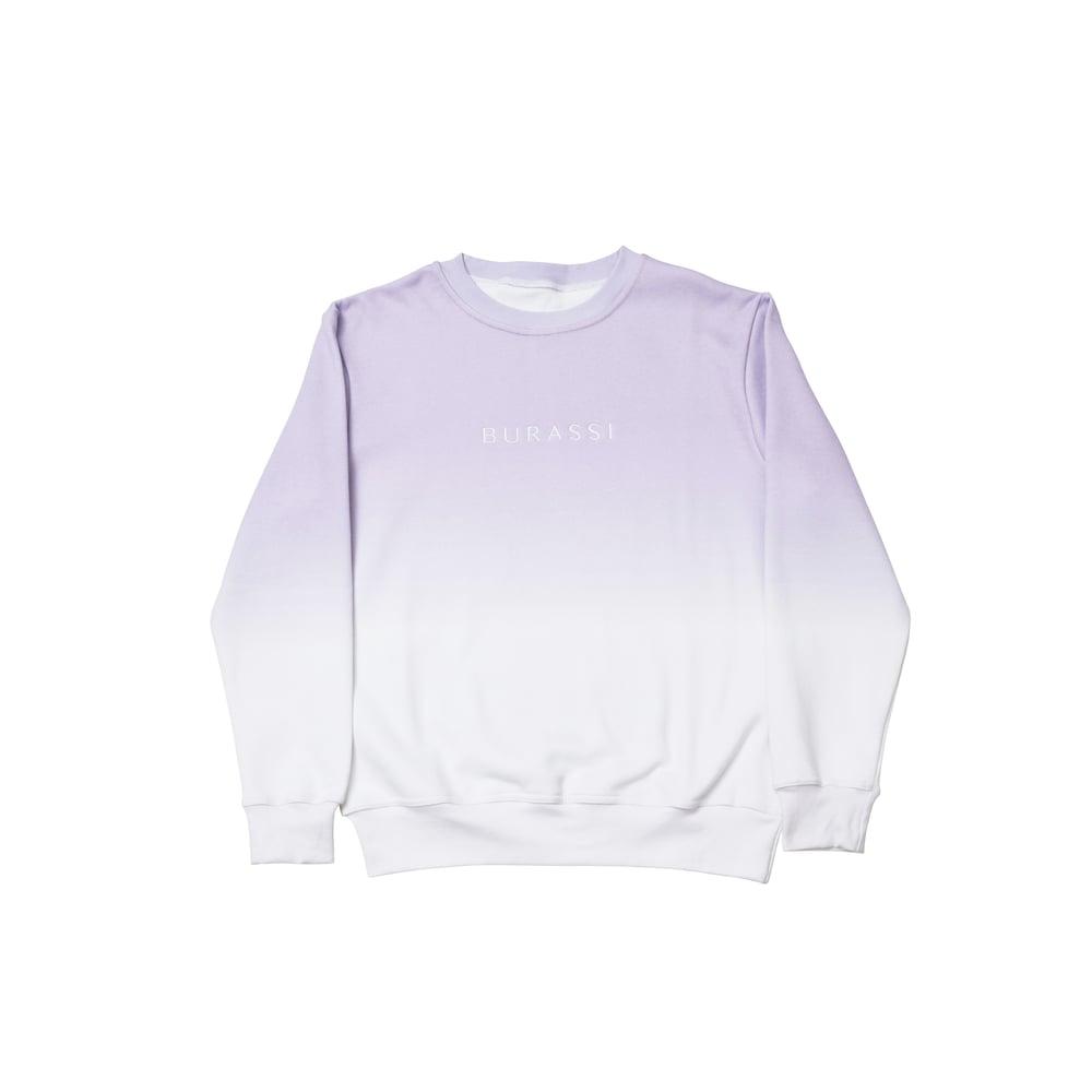 Image of Dip Dye Crewneck (Lavender)