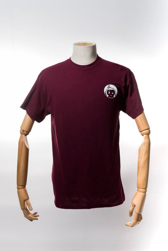Image of Monkey Climber Pro Public shirt I Burgundy
