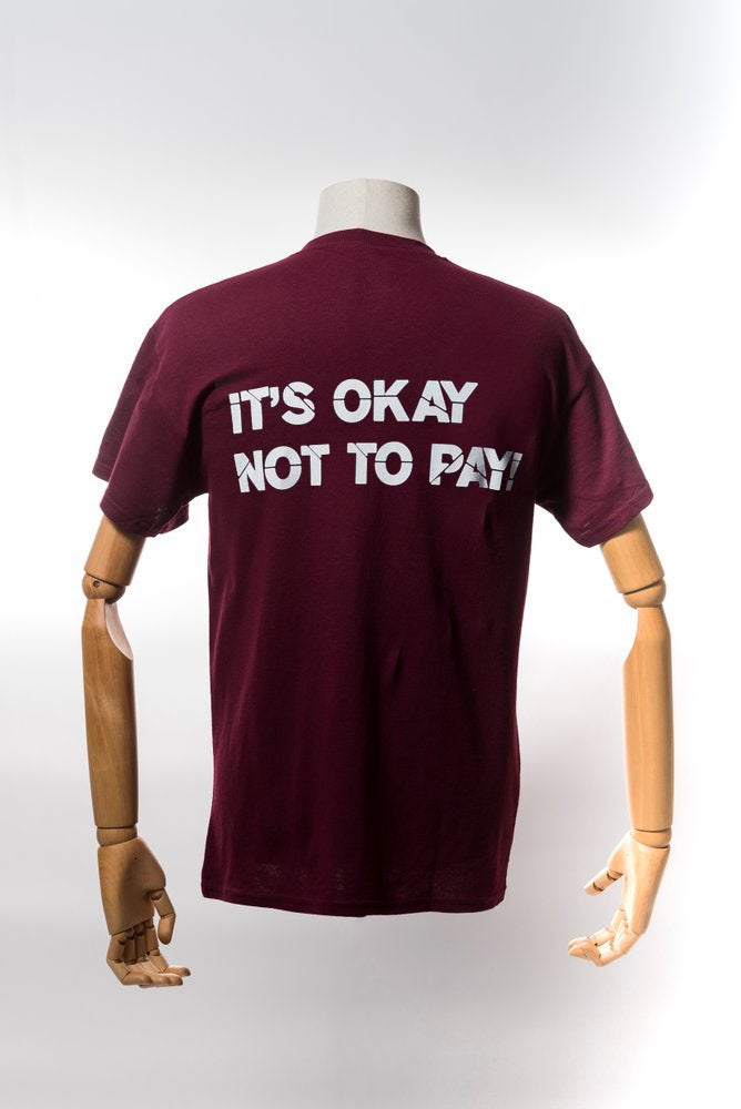 Image of Monkey Climber Pro Public shirt I Burgundy
