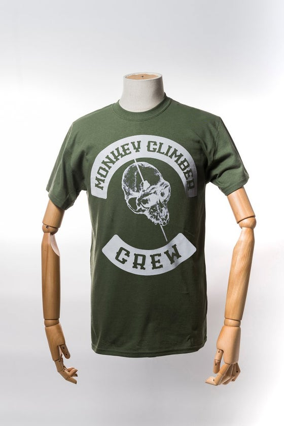 Image of Monkey Climber Pitboss shirt I Olive
