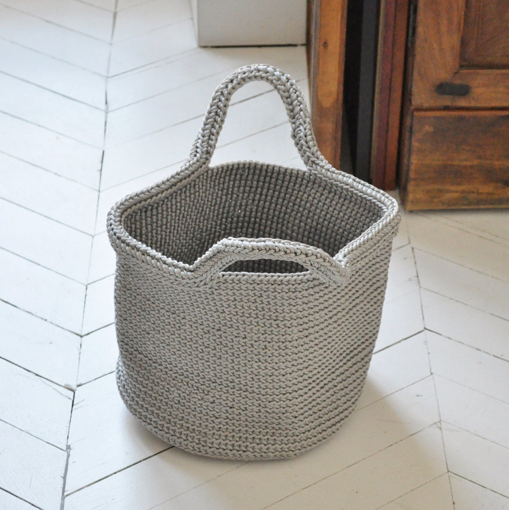 Image of Panier crochet en fil de nylon